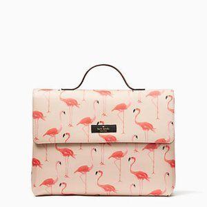 Kate Spade Shore Street Lita Flamingo Cosmetic Bag